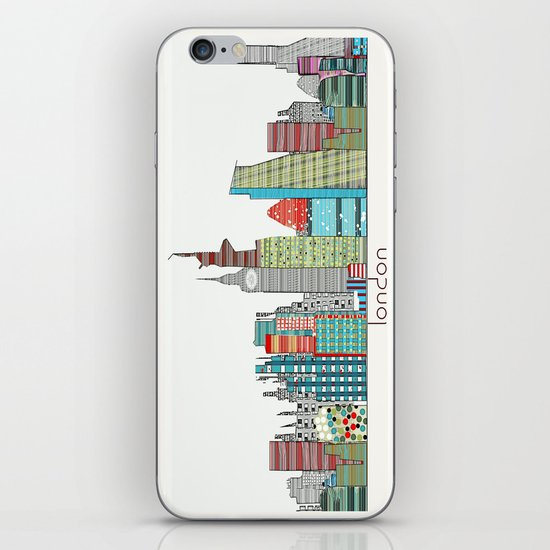London city skyline  iPhone & iPod Skin