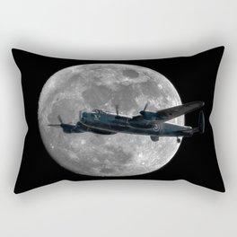 Bomber's Moon Rectangular Pillow