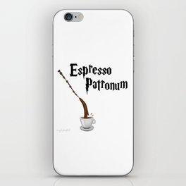 Espresso Patronum design iPhone Skin