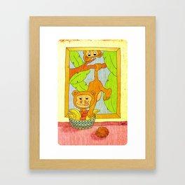 Wilderness at home Framed Art Print