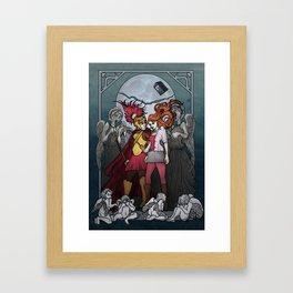 The Angels take the Ponds Framed Art Print