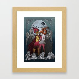 The Angels take the Ponds Framed Art Print