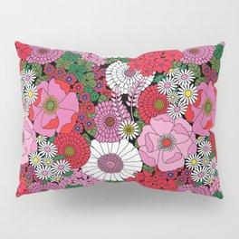 Vintage Florals Geranium Pillow Sham