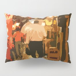 Salaryman Wanders Home Through Shinjuku,Tokyo Pillow Sham