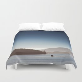 San Juan Islands Duvet Cover