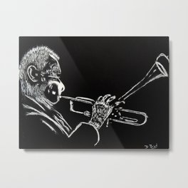 Dizzy Be Bop Metal Print
