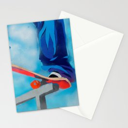 Rail grind Stationery Cards
