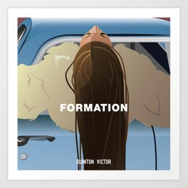 FORMATION Art Print