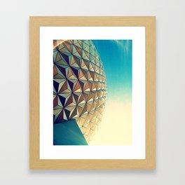 Epcot Framed Art Print