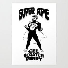 Super Ape £$P Art Print
