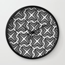 tiled tiled tiled  Wall Clock