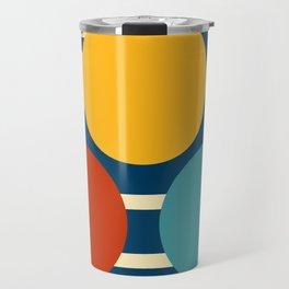 Three circles and lines Travel Mug