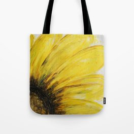 Big Yellow Daisy Tote Bag