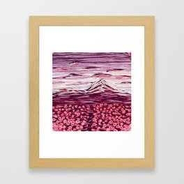 Purple Mountain Majesties Framed Art Print