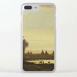 Brother of the Deer Clear iPhone Case