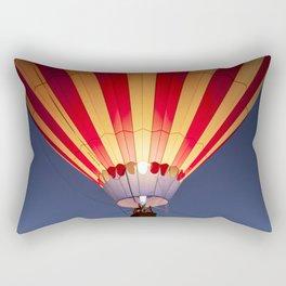 Balloon festival glow Rectangular Pillow