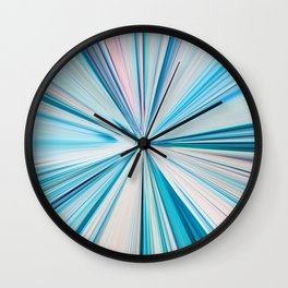 426 - Abstract grass design Wall Clock
