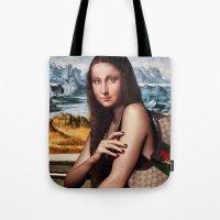 gucci Tote Bags featuring GIOCONDA by NOXBIL