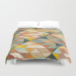 Triangles and Circles Pattern no.23 Duvet Cover