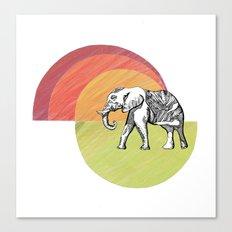 Elephant... Canvas Print