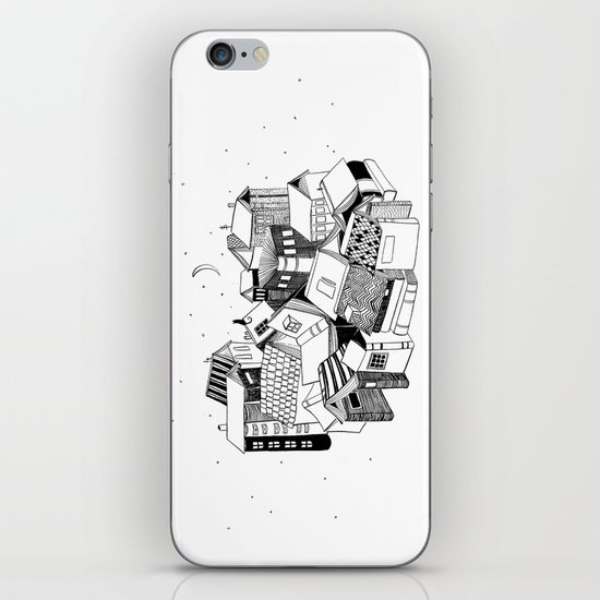 Book Town iPhone & iPod Skin