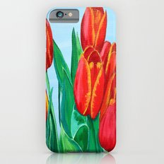 Red Tulips  iPhone 6s Slim Case