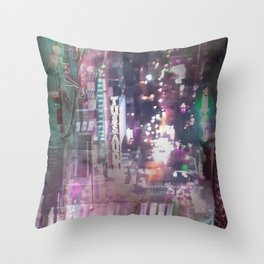 Cityscape 03 Throw Pillow