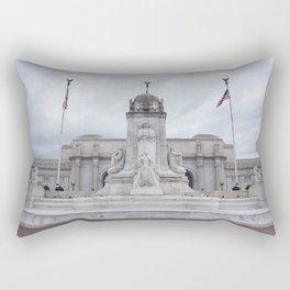 Amtrak terminal (train station) - Washington D.C Rectangular Pillow