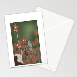 Mushroom Inspector Stationery Cards