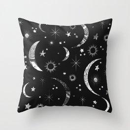 Sun & Moon Throw Pillow