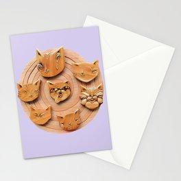 Cat Vortex Stationery Cards