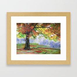 End of season Framed Art Print