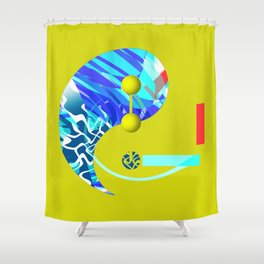 the single life Shower Curtain