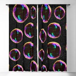 Soap Bubbles Pattern Blackout Curtain