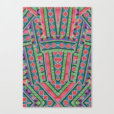 watermelon tribe Canvas Print