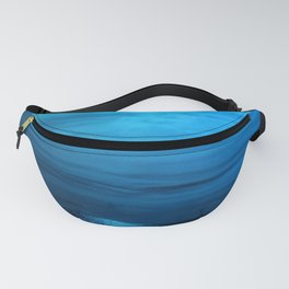 Great Moon In Blue Seascape Fanny Pack