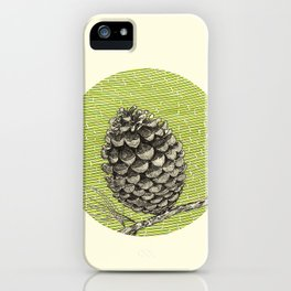 A pinecone iPhone Case