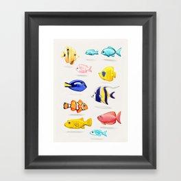 Smells a bit fishy... Framed Art Print