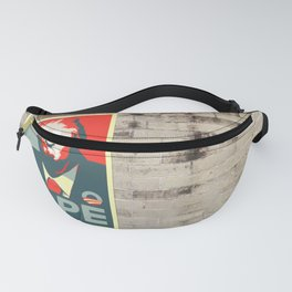 Donald Trump NOPE to build the Wall Fanny Pack