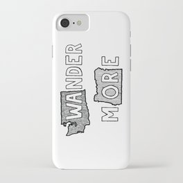 Wander More iPhone Case