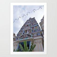 Sri Mahamariamman Art Print