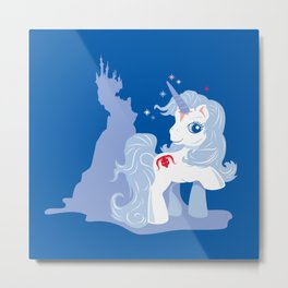My Little Last Unicorn Metal Print