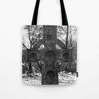 celtic Tote Bags featuring Celtic by Kendall Brier