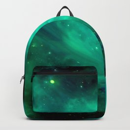 Teal Blue Indigo Sky, Stars, Space, Universe, Photography Backpack
