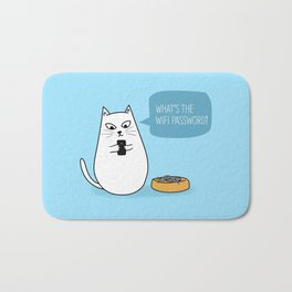Wifi Cat Bath Mat