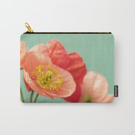 Pastel Poppy #1 Carry-All Pouch