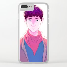 Young Merlin Clear iPhone Case