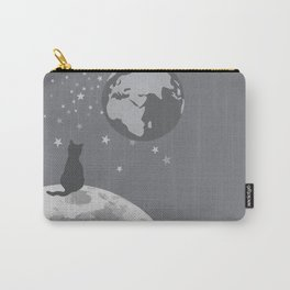 Space Cat Carry-All Pouch