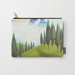Alpine Meadow landscape Carry-All Pouch