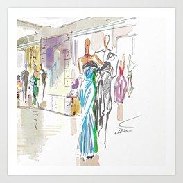 Italian Line Art Print